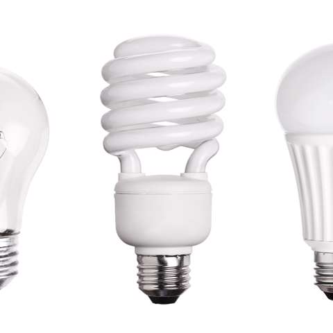 Comparing LED vs. CFL vs. Incandescent Light Bulbs